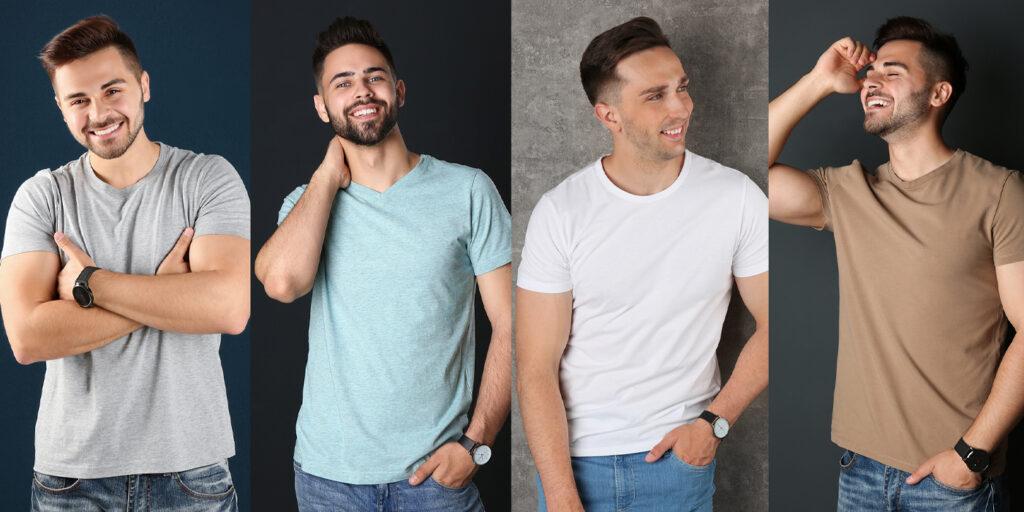 4 secrete pentru ca un bărbat să arate grozav într-un tricou