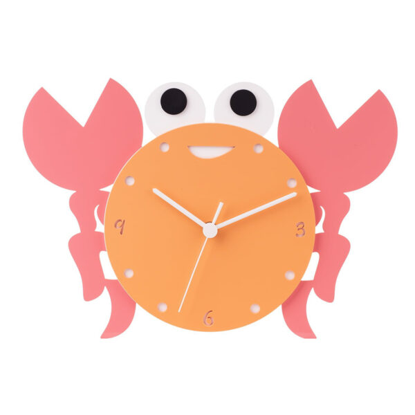 Ceas de perete copii Crabul Vesel