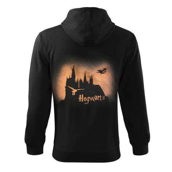 Hanorac Hogwarts Barabat Decolorat Cu Clor 2