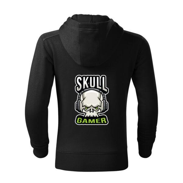 Skull Gamer Hanorac Copii Negru
