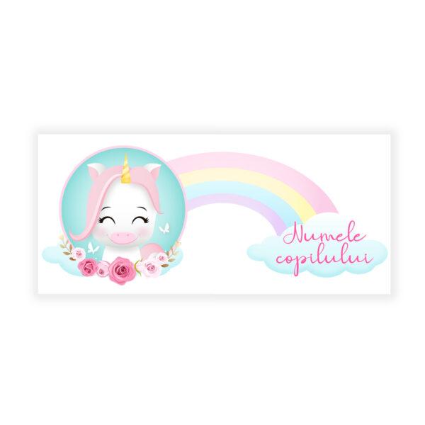 Cute Unicorn Cana Personalizata2