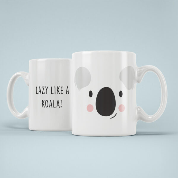 Cana Personalizata Koala Lenes