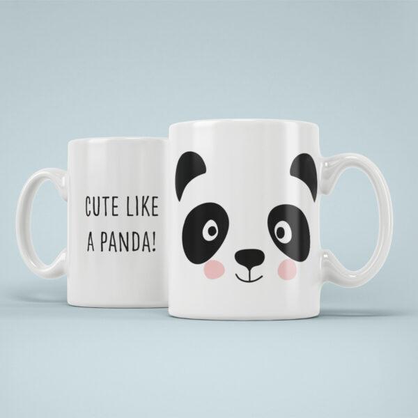 Cana Personalizata Panda Cute