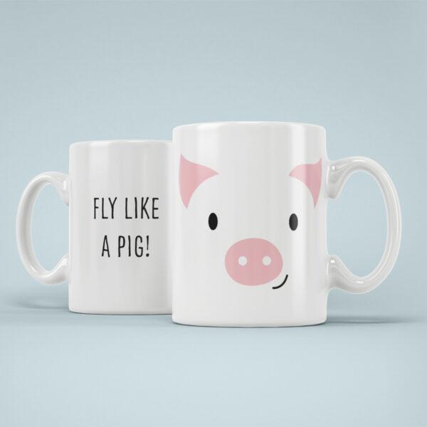 Cana Personalizata Porcusor Fly