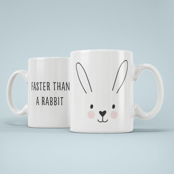 Cana Personalizata Rabbit Faster