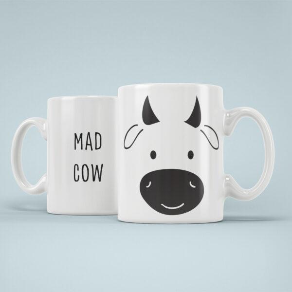 Cana Personalizata Vaca Nebuna