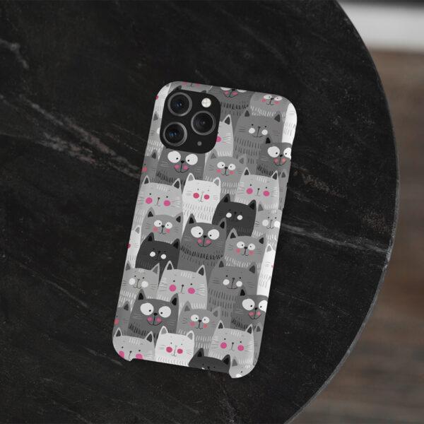 Husa De Protectie Telefon Pisici 2