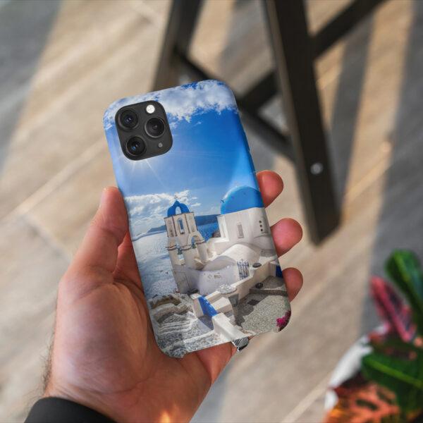 Husa De Telefon Santorini Azur 2