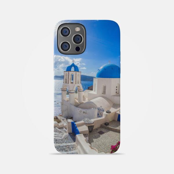 Husa De Telefon Santorini Azur