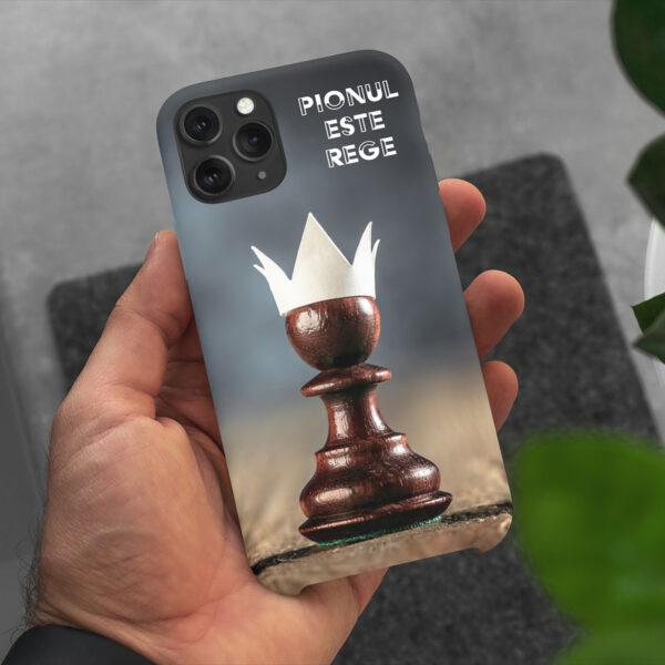 Husa De Telefon Personalizata Sah Pionul Este Rege 2