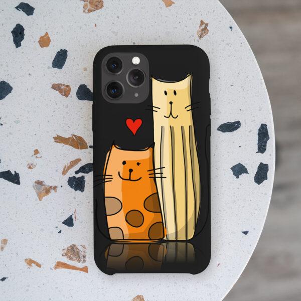 Husa Telefon Pisici Cat Love 2