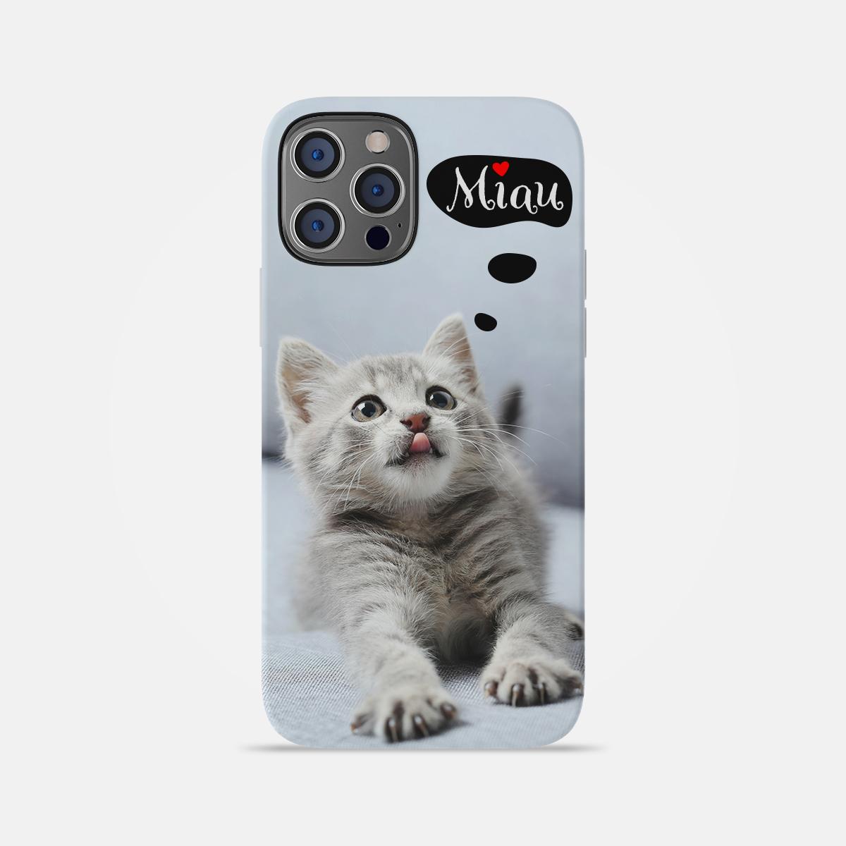 Husa Telefon Pisicuta Miau